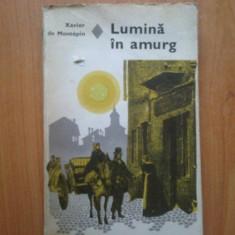 T Lumina In Amurg - Xavier De Montepin - Roman, Anul publicarii: 1977