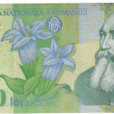 SV * Romania BNR 10000 / 10.000 LEI 2000 polimer semnata Ghizari UNC - Bancnota romaneasca