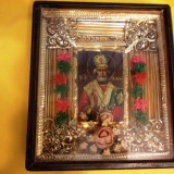 Icoana veche Sf. Nicolaie pictata pe lemn/ ICOANA Sf. Nicolae / Sf. Neculai - Icoana pe lemn