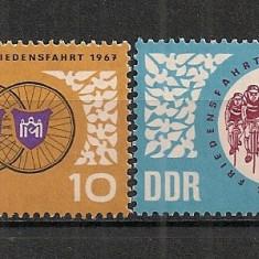 D.D.R.1967 Turul Pacii la ciclism CD.773 - Timbre straine, Nestampilat