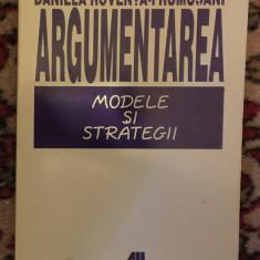 Argumentarea : modele si strategii / Daniela Roventa-Frumusani