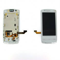 Display LCD cu Touchscreen Nokia 700 Alb Orig Swap