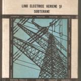 Linii electrice aeriene si subterane - Carti Energetica