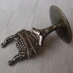 Impresionant suport pentru tacamuri argintat inscriptionat ALKMAAR, anii 1920