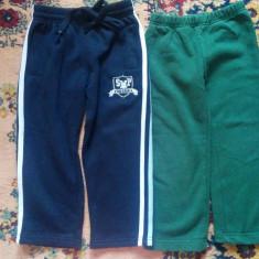 Pantaloni trening copii 3-4 ani, arata impecabil.Pretul este pe set!, Culoare: Bleumarin