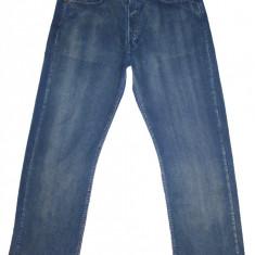 Reiati LEVI'S 508 - (MARIME: W 33 / L 34) - Talie = 91 CM / Lungime Totala = 116 - Blugi barbati Levi's, Culoare: Albastru, Prespalat, Drepti, Normal