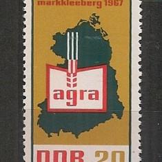 D.D.R.1967 Targul ptr. agricultura Markkleeberg CD.776 - Timbre straine, Nestampilat