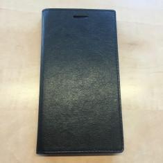 Husa Philips V526 Flip Case Black - Husa Telefon Philips, Negru, Piele Ecologica, Cu clapeta, Toc