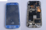 Display + Touchscreen Samsung Galaxy S4 Mini i9190 Albastru Orig