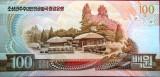 Bancnota 100 won - COREEA de NORD, anul 1992  * Cod 811  - UNC!