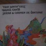 Trio Santa Cruz, Brasil Canta - disc vinil (vynil), pick-up