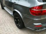 Set evazari bosaje aripi wide body kit aripi BMW X5 E70 Aero Mtech Pachet M, X5 (E70) - [2007 - 2013]