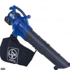 LUX TOOLS Suflanta/Aspirator de gradina cu motor benzina - Aspirator/Tocator frunze