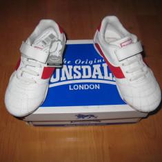 Adidasi piele naturala Lonsdale marimea 28 - Adidasi copii Lonsdale, Culoare: Din imagine, Fete