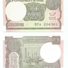 INDIA- 1 RUPIE 2015 NEW- UNC!!