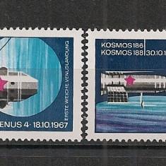 D.D.R.1968 Cosmonautica CD.792 - Timbre straine, Nestampilat