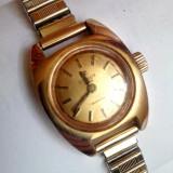 Vintage Tissot Swiss Seastar Plaque G 20 - Ceas dama Tissot, Casual, Mecanic-Manual, Placat cu aur, Inox, Analog