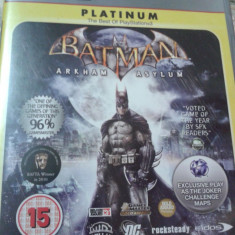 JOCURI playstation 3, ps3, actiune, aventura, BATMAN - Jocuri PS3 Electronic Arts, 12+, Single player
