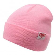 In STOC! Fes Lee Cooper Knit Hat Womens - Material 100% acrylic - Caciula Dama, Culoare: Roz, Marime: Marime universala