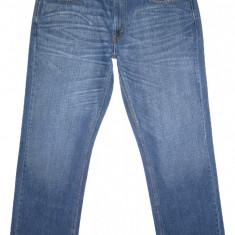 Blugi Originali LEVI'S 559 (MARIME: W 36 / L 32) - Talie = 96cm; Lungime = 109cm - Blugi barbati Levi's, Culoare: Albastru, Prespalat, Drepti, Normal