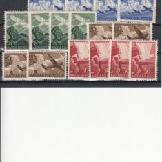 UNGARIA 1942, MI 687/90, 4 SERII MNH, LOT 1 ST, Nestampilat