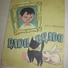 RADU-BRADU - ANA TUDIRAS / ILUSTRATA FRUMOS / FORMAT MEDIU / 1957 - Carte de povesti