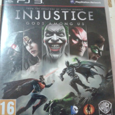 JOCURI playstation 3, ps3, actiune, aventura, INJUSTICE GODS AMONG US - Jocuri PS3 Electronic Arts, Toate varstele, Single player