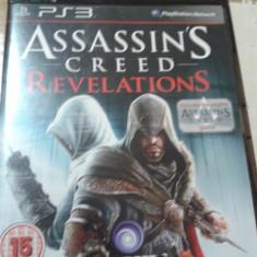 Joc playstation 3, ps3, actiune, aventura, assassins creed revelations - Jocuri PS3 Electronic Arts, 18+, Single player