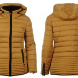 Geaca Dama Firetrap Lux Bubble Ld54 - Honey Mustard