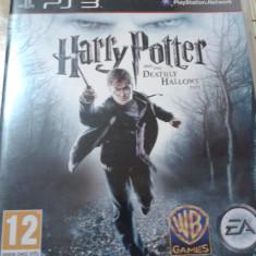 Joc playstation 3, ps3, actiune, aventura, HARRY POTTER deadly hallows - Jocuri PS3 Electronic Arts, Toate varstele, Single player