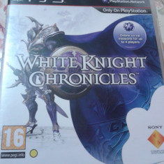 JOCURI playstation 3, ps3, actiune, aventura, WHITE KNIGHT CHRONICLES - Jocuri PS3 Electronic Arts, Toate varstele, Single player