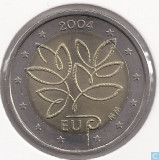 Moneda 2 euro comemorativa FINLANDA 2004 - UNC, Europa, Cupru-Nichel