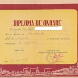 bnk div Diploma Rafinaria Vega Ploiesti 1958