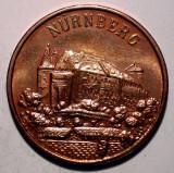7.762 JETON ALBRECHT DURER 1471 1971 NURNBERG 20mm