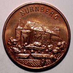 7.762 JETON ALBRECHT DURER 1471 1971 NURNBERG 20mm - Jetoane numismatica