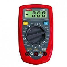 Multimetru digital UNI-T MIE0044 UT33C temperatura diode continuitate - Multimetre