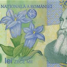 Romania 10000 / 10.000 Lei 2000 (polimer - Isarescu ) P-112 UNC !!! - Bancnota romaneasca
