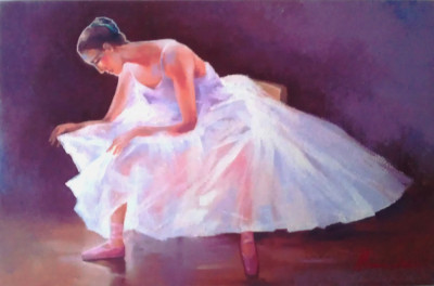 tablou picturå  ,, balerinå ,, foto