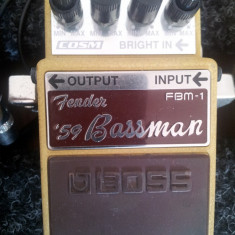 Vand pedala chitara elecrica Boss FBM-1 (Fender '59 Bassman) - Efect Chitara