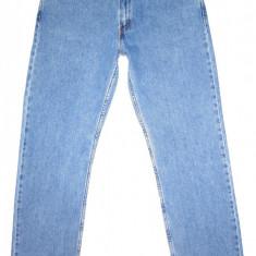 Blugi LEVI'S 505 - (MARIME: W 34 / L 34) - Talie = 86 CM / Lungime = 115 CM - Blugi barbati Levi's, Culoare: Albastru, Prespalat, Drepti, Normal