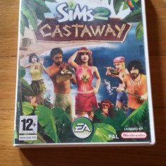 JOC WII THE SIMS 2 CASTAWAY ORIGINAL PAL / by DARK WADDER - Jocuri WII Electronic Arts, Simulatoare, 12+, Single player
