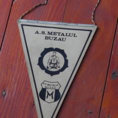 Fanion sport Judo - A. S. Matalul Buzau - perioada comunista ! - Fanion fotbal