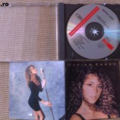 Mariah carey album cd disc editie vest cbs booklet texte muzica pop dance 1990