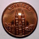 7.766 JETON ALBRECHT DURER 1471 1971 NURNBERG 20mm