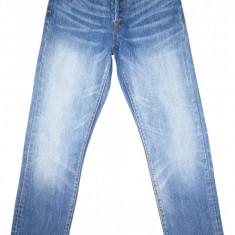 Blugi LEVI'S 501XX Big E Selvedge Jeans - (MARIME: W 30 / L 34) - Talie = 80 CM - Blugi barbati Levi's, Culoare: Albastru, Lungi, Prespalat, Drepti, Normal