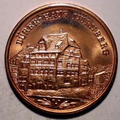 7.757 JETON ALBRECHT DURER 1471 1971 NURNBERG 20mm - Jetoane numismatica