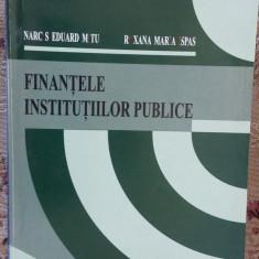 FINANTELE INSTITUTIILOR PUBLICE - MITU , ISPAS
