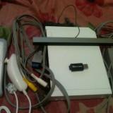 Consola nintendo wii modata+ card 8gb cu jocuri + accesorii
