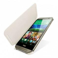 HTC M8 Husa Flip Cover Coperta.Produs 100%original - Husa Telefon HTC, HTC One M8, Gri