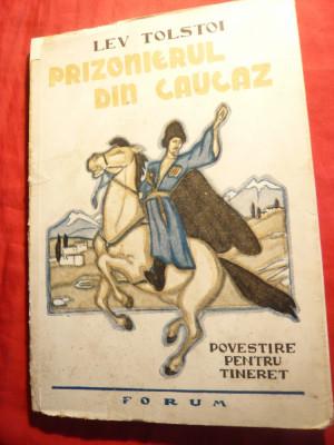 Lev Tolstoi - Prizonierul din Caucaz - Ed. 1948 trad. R.Boureanu ,ilustratii foto